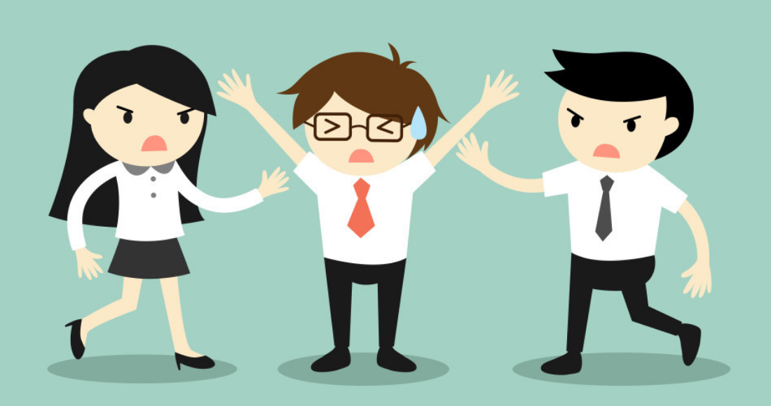Identify the types of colleagues you should not associate